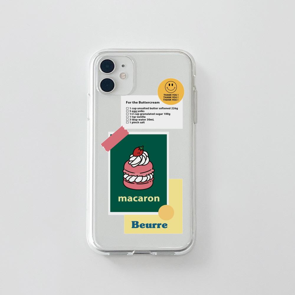 젤리) 마카롱 스티커 . 아이폰 11 12 13 미니 프로 맥스 7 8 se2 XS 갤럭시 노트10 20 울트라 S20 S21 핸드폰케이스 카드 커플 아이폰케이스 갤럭시케이스 아이폰실리콘케이스
