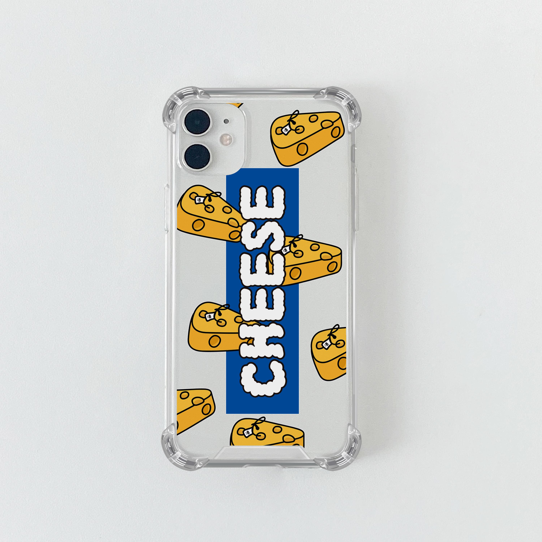 슈퍼) CHEESE 띠 블루 . 아이폰 11 12 13 미니 프로 맥스 XS 갤럭시 노트10 20 울트라 S20 S21 핸드폰케이스 카드 커플 아이폰케이스 갤럭시케이스