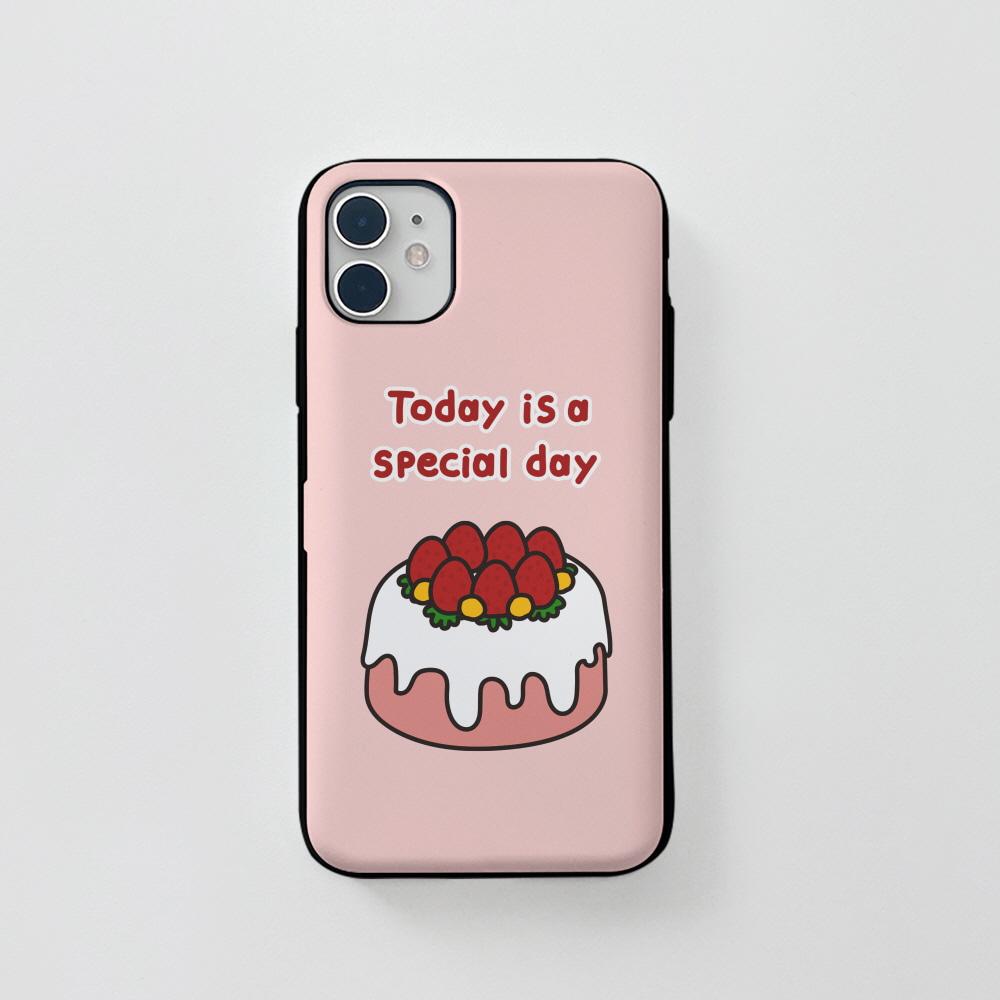 카드) 스페셜 케키 핑크